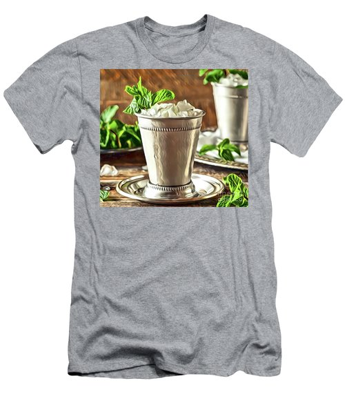 Mint Julep Double Men's T-Shirt (Athletic Fit)