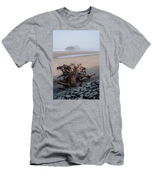 Minus Tide At Arch Cape Men's T-Shirt (Athletic Fit)