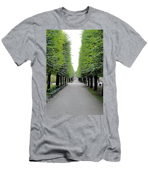Mirabell Garden Alley Men's T-Shirt (Athletic Fit)