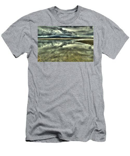 Mirror Beach Men's T-Shirt (Athletic Fit)