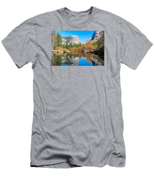 Mirror Lake Yosemite Np Men's T-Shirt (Athletic Fit)