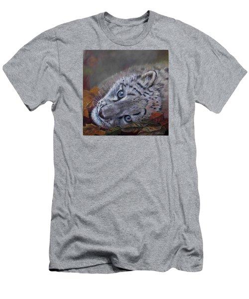 Mirucha In Fall Men's T-Shirt (Slim Fit)