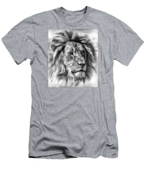 Men's T-Shirt (Slim Fit) featuring the photograph Mischievous  by Elaine Malott