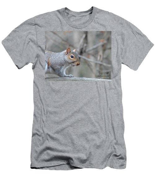 Missing Paw Men's T-Shirt (Athletic Fit)