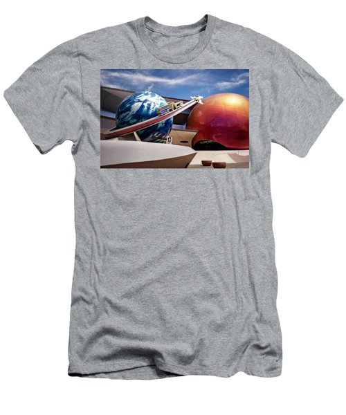 Men's T-Shirt (Slim Fit) featuring the photograph Mission Space by Eduard Moldoveanu