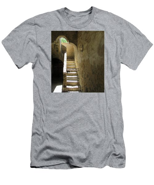 Mission Stairway  Men's T-Shirt (Athletic Fit)