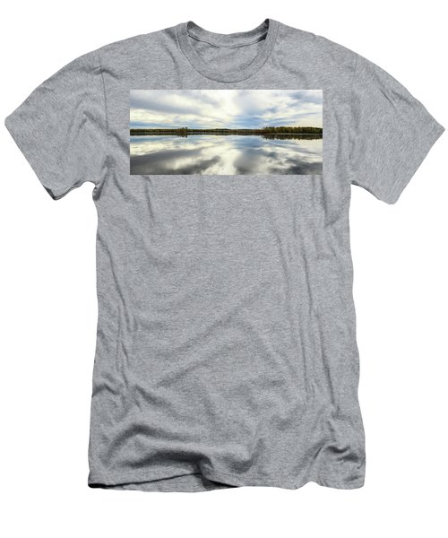 Mississippi River Panorama Men's T-Shirt (Athletic Fit)