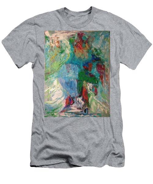 Misty Depths Men's T-Shirt (Athletic Fit)
