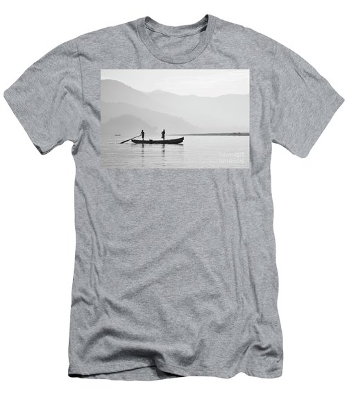 Misty Morning 3 Men's T-Shirt (Athletic Fit)