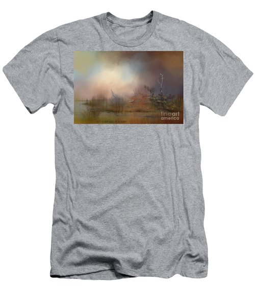 Misty Morning Men's T-Shirt (Slim Fit) by Kathy Russell