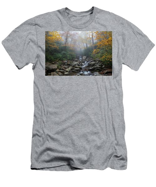Misty Morning Magic Men's T-Shirt (Athletic Fit)