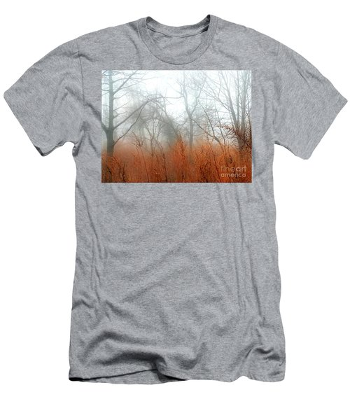 Men's T-Shirt (Slim Fit) featuring the photograph Misty Morning by Raymond Earley