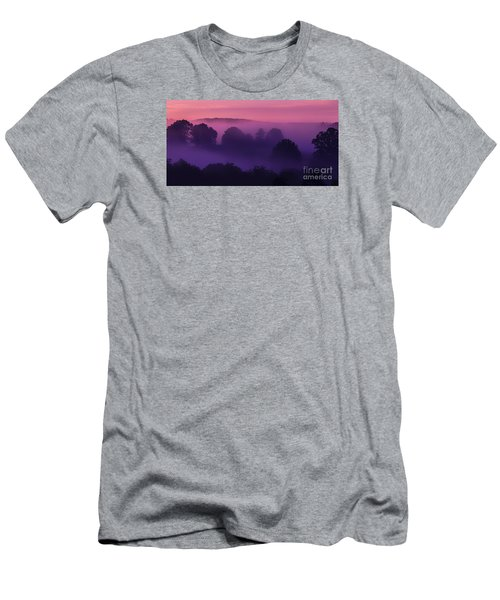 Misty Mountain Dawn Men's T-Shirt (Slim Fit) by Thomas R Fletcher