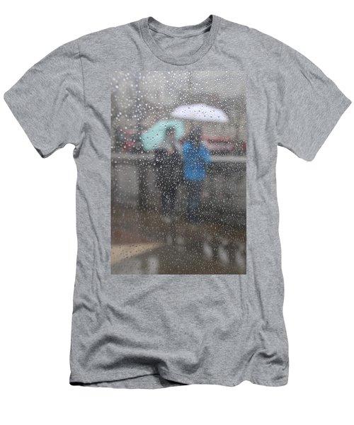 Misty Rain Men's T-Shirt (Athletic Fit)