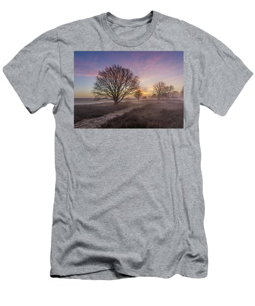 Misty Sunrise Men's T-Shirt (Athletic Fit)