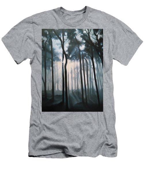 Misty Woods Men's T-Shirt (Athletic Fit)