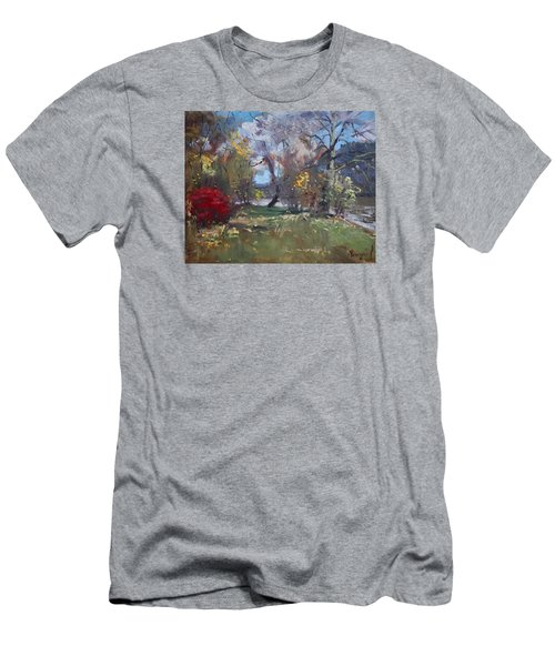 Mixed Weather In A Fall Afternoon Men's T-Shirt (Slim Fit) by Ylli Haruni