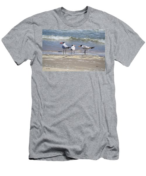 Moe And Larry And Curlie Men's T-Shirt (Athletic Fit)