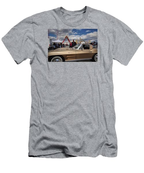 Mom N Vette Men's T-Shirt (Slim Fit) by Robert McCubbin