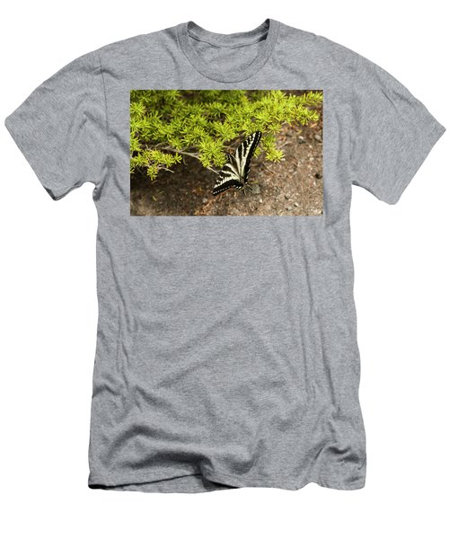 Momentary Rest Stop Men's T-Shirt (Athletic Fit)