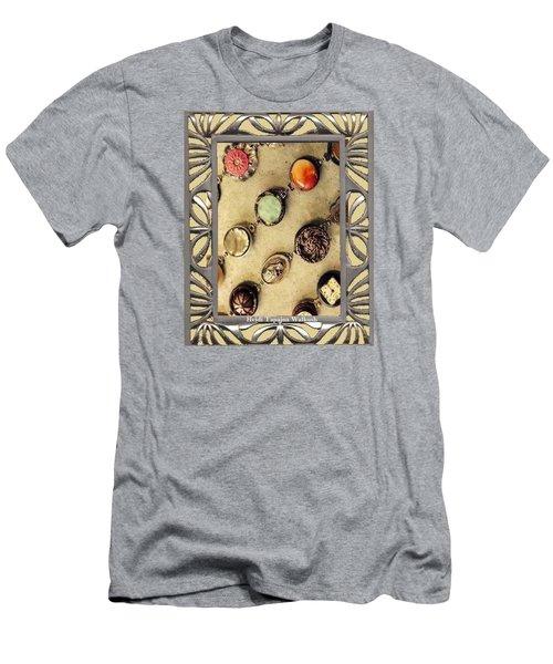 Moments In Time Bracelet Art Men's T-Shirt (Slim Fit) by Heidi Walkush