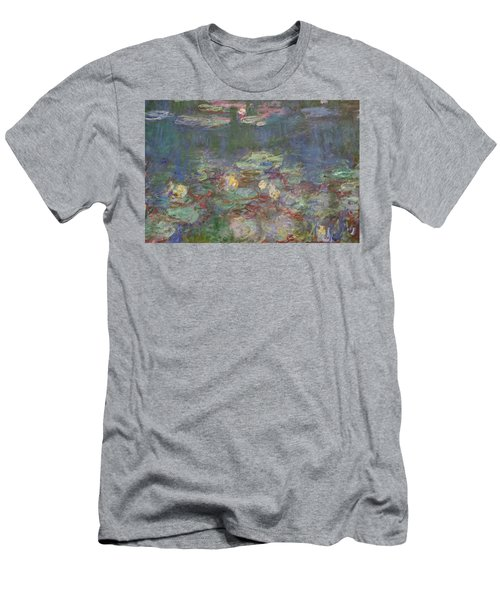 Men's T-Shirt (Athletic Fit) featuring the photograph Monet Water Lilies by August Timmermans