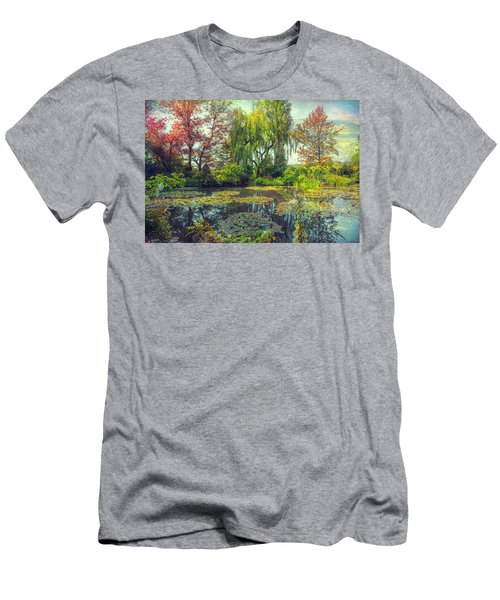 Monet's Afternoon Men's T-Shirt (Slim Fit) by John Rivera