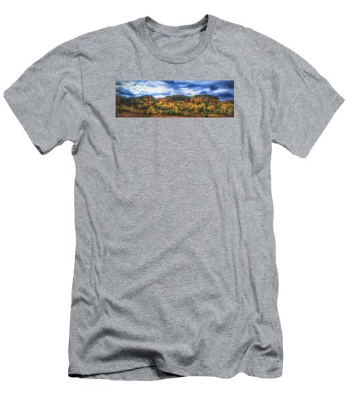 Monkton Ridge, Vt Men's T-Shirt (Athletic Fit)