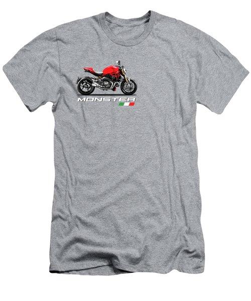 Monster 1200 Men's T-Shirt (Slim Fit) by Mark Rogan
