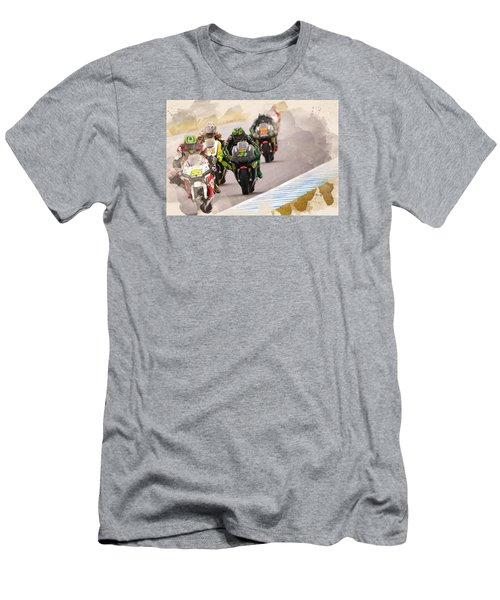 Monster Yamaha Tech 3, Men's T-Shirt (Athletic Fit)
