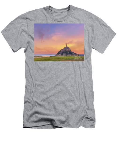 Mont-saint-michel At Dawn Men's T-Shirt (Athletic Fit)
