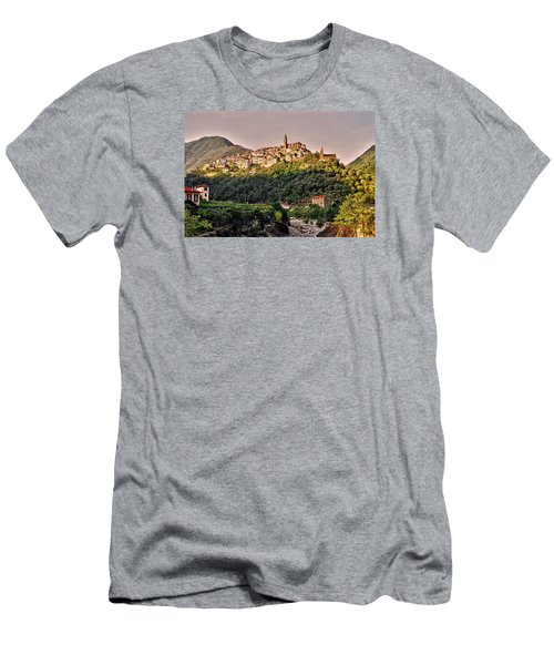 Montalto Ligure - Italy Men's T-Shirt (Slim Fit) by Juergen Weiss
