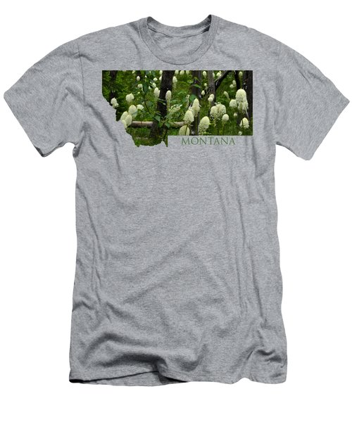 Montana Bear Grass Men's T-Shirt (Athletic Fit)