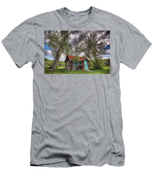 Montana Cabin Men's T-Shirt (Athletic Fit)