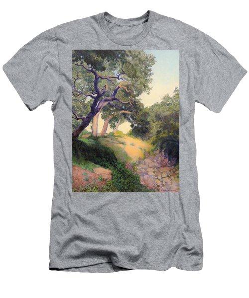 Montecito Dry River Oaks Men's T-Shirt (Athletic Fit)