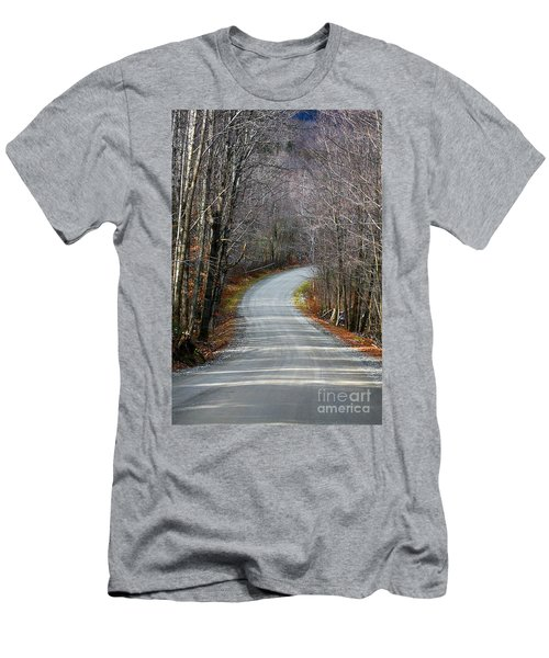 Montgomery Mountain Rd. Men's T-Shirt (Athletic Fit)