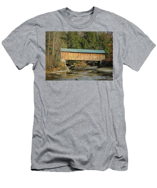 Montgomery Road Bridge Men's T-Shirt (Athletic Fit)