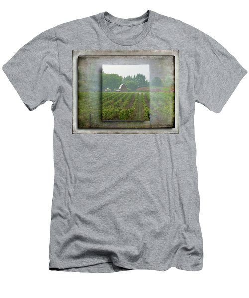 Montinore Winery Men's T-Shirt (Athletic Fit)