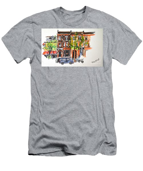 Montreal 1 Men's T-Shirt (Athletic Fit)