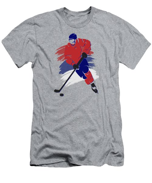 Montreal Canadiens Player Shirt Men's T-Shirt (Athletic Fit)