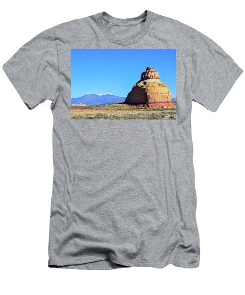 Monument To Time Men's T-Shirt (Athletic Fit)