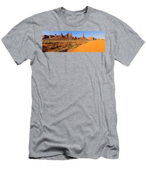 Monument Valley,arizona Men's T-Shirt (Athletic Fit)