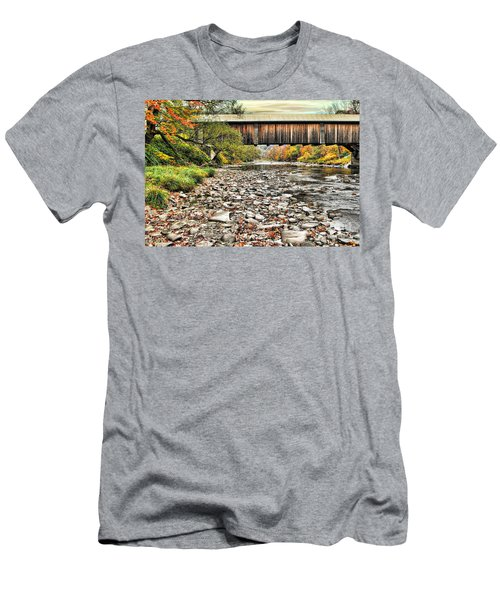 Moody Autumn Day Men's T-Shirt (Athletic Fit)