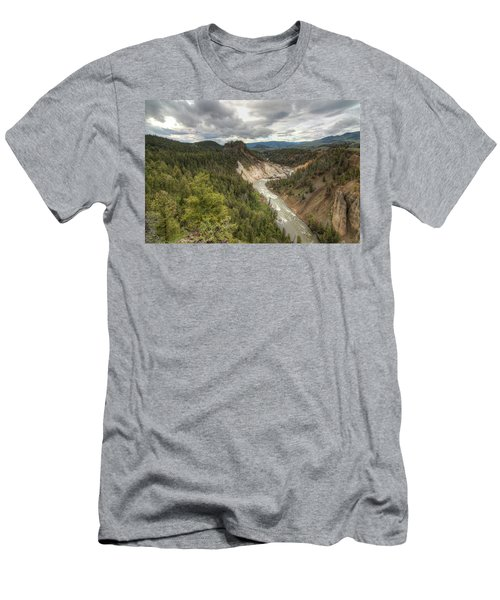 Moody Yellowstone Men's T-Shirt (Athletic Fit)