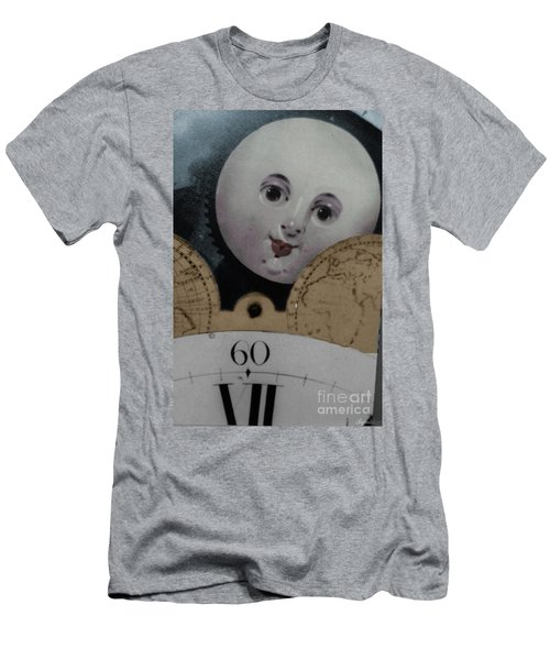 Moon Face Men's T-Shirt (Athletic Fit)