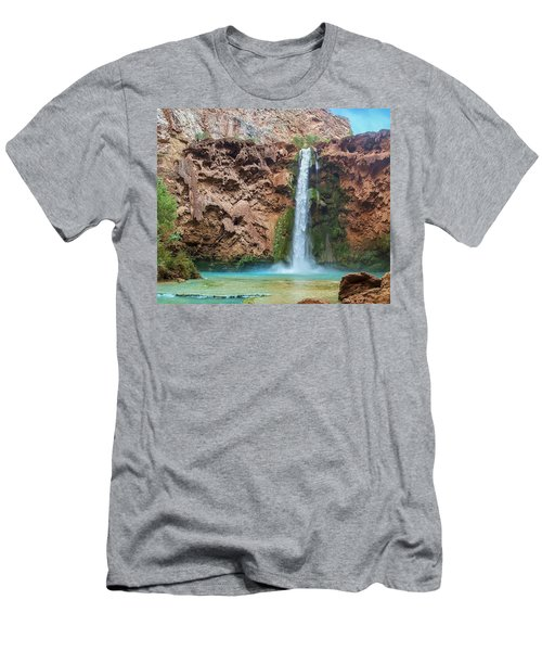 Mooney Falls Grand Canyon Men's T-Shirt (Athletic Fit)