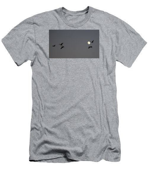 Moonlight Flight Men's T-Shirt (Athletic Fit)