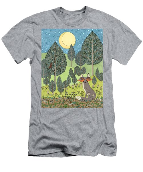 Moonlit Meadow Men's T-Shirt (Athletic Fit)