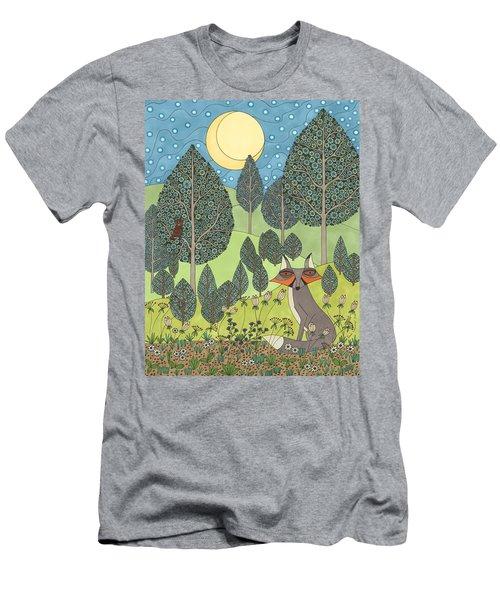 Moonlit Meadow Men's T-Shirt (Athletic Fit)
