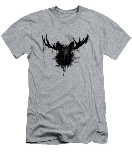 Moose Men's T-Shirt (Slim Fit) by Nicklas Gustafsson